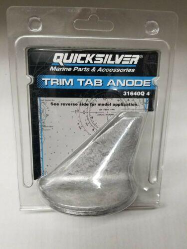 Mercruiser OEM Alpha One Lower Trim Tab Fin Aluminum Anode 31640Q4 31640A 1