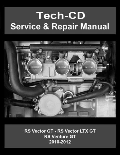 Yamaha Rs Vetor serviço e reparo Manual Gt Ltx RS90 2010 2011 2012