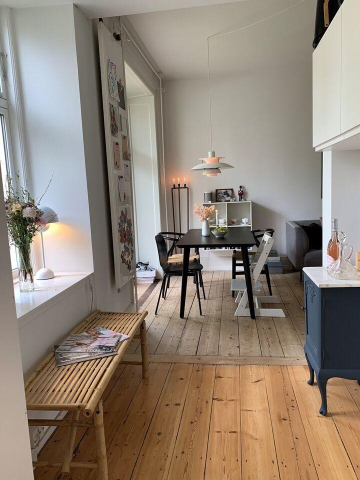 Andelsbolig, Frederiksberg, byttes