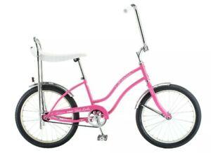 New Schwinn Fair Lady Pink Sting Ray Bike Stingray High Rise Bars, Banana Seat
