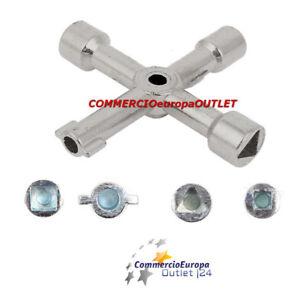 CHIAVE-UNIVERSALE-4-IMPRONTE-UTENZE-GAS-ACQUA-ELETTRICITA-039-CONTATORI-KEY-GPL