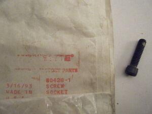 SUPER XL THROTTLE HANDLE SCREW PN 80560 NEW HOMELITE XL-12