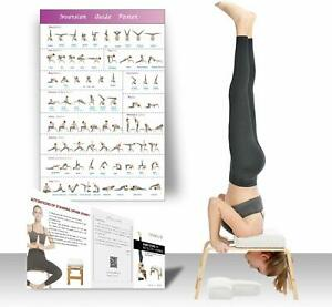 restrial life yoga headstand benchstand yoga chair for