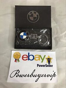 NEW BMW Keychain Metal Alloy Keyring, Key Chain, Keyfob, W/Gift Box 2 DAY GET