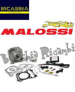 0261 Cylindre Malossi 63 Aluminium I-tech Piaggio 125 150 Liberty Iget