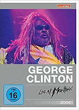 GEORGE CLINTON & PARLIAMENT-FUNKADELIC - LIVE AT MONTREUX 2004 ( DVD ) NEU & OVP