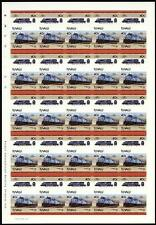1982 Conrail EMD SD50 Diesel-Electric #6729 Imperf/Imperforate Train Stamp Sheet