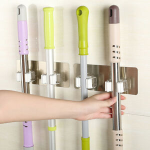 Wall-Mounted-Mop-Holder-Brush-Broom-Hanger-Storages-Rack-Kitchen-Organizer-Clean