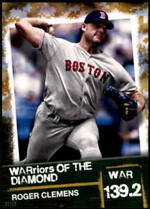 Roger-Clemens-2020-Topps-WARriors-of-the-Diamond-5x7-Gold-WOD-5-10-Red-Sox