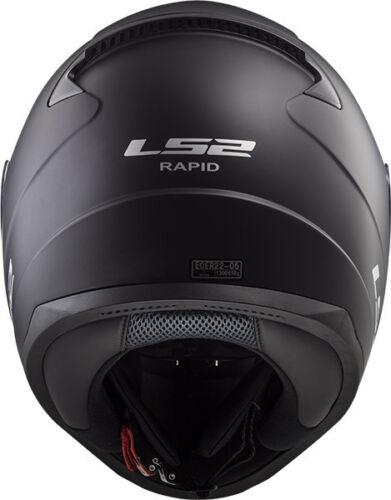 Ls2 FF353 Rapid Integrale da Moto Casco Crypt Deadbolt Carrera