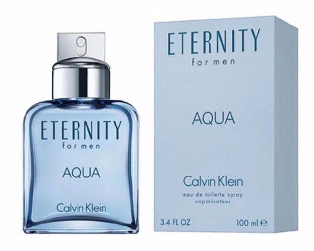 Calvin Klein Eternity Aqua Cologne for Men 100ml EDT Spray