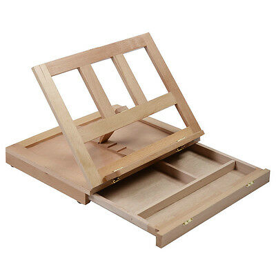 Stand Painting Drawing Wood Portable Desk Easel Solabela Art Travel Artist Paint
