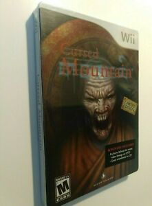 Cursed-Mountain-Limited-SteelBook-Edition-NEW-amp-FACTORY-SEALED-Nintendo-Wii