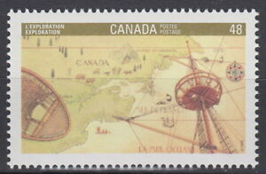 CANADA-1406-48-Canada-92-Exploration-Cartier-Mint-Never-Hinged