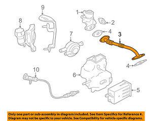 jaguar oem 98 99 xj8 egr system tube aj83890 ebay rh ebay com
