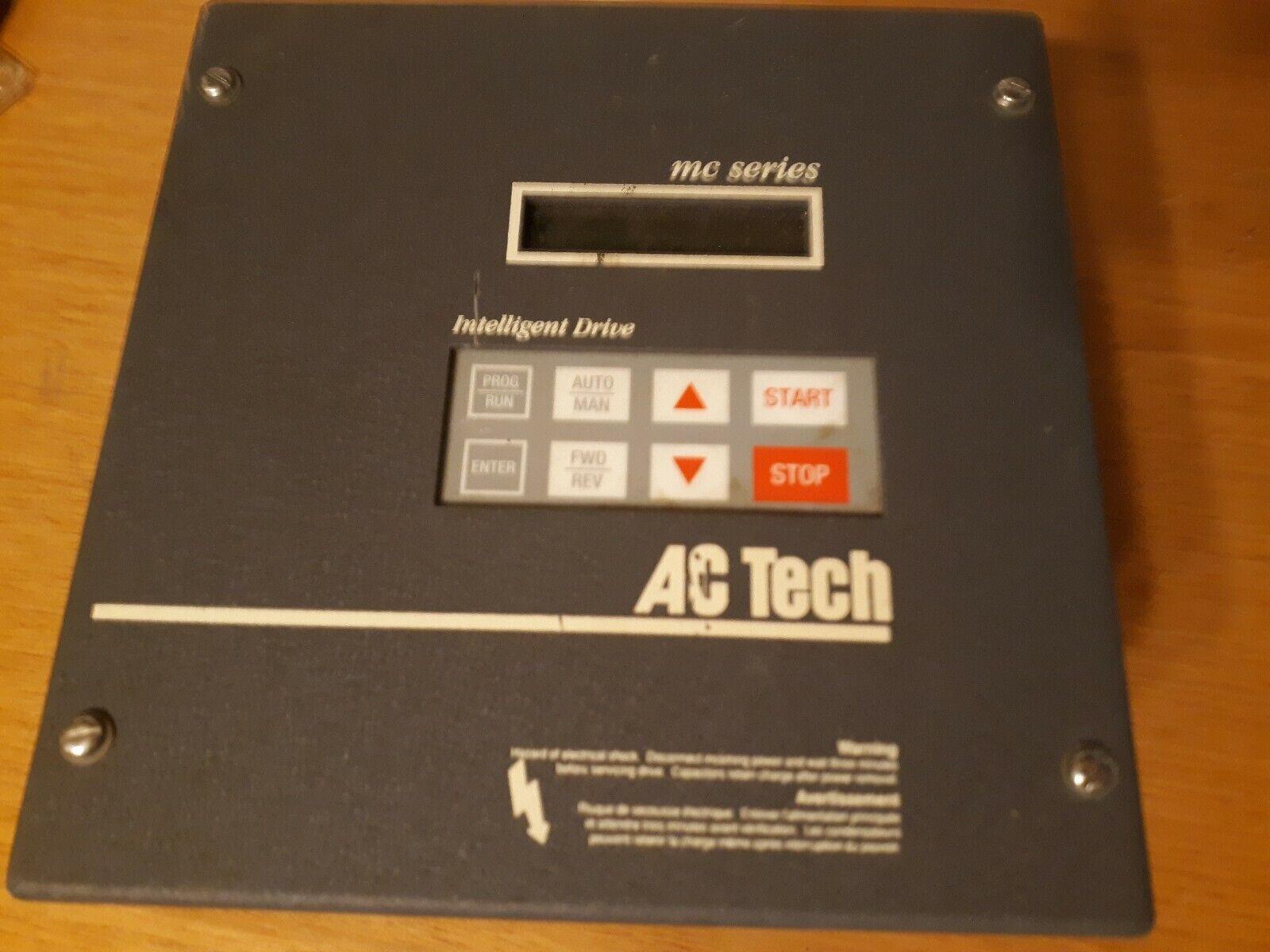 AC TECH MC SERIES INTELLIGENT DRIVE M3430C 3HP 400//480V XLNT USED TAKEOUT ! M//O