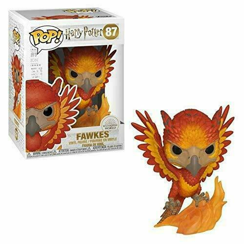 Funko Figurines Pop Vinyle Harry Potter S7-Fawkes Collection, 42239, Multicolore