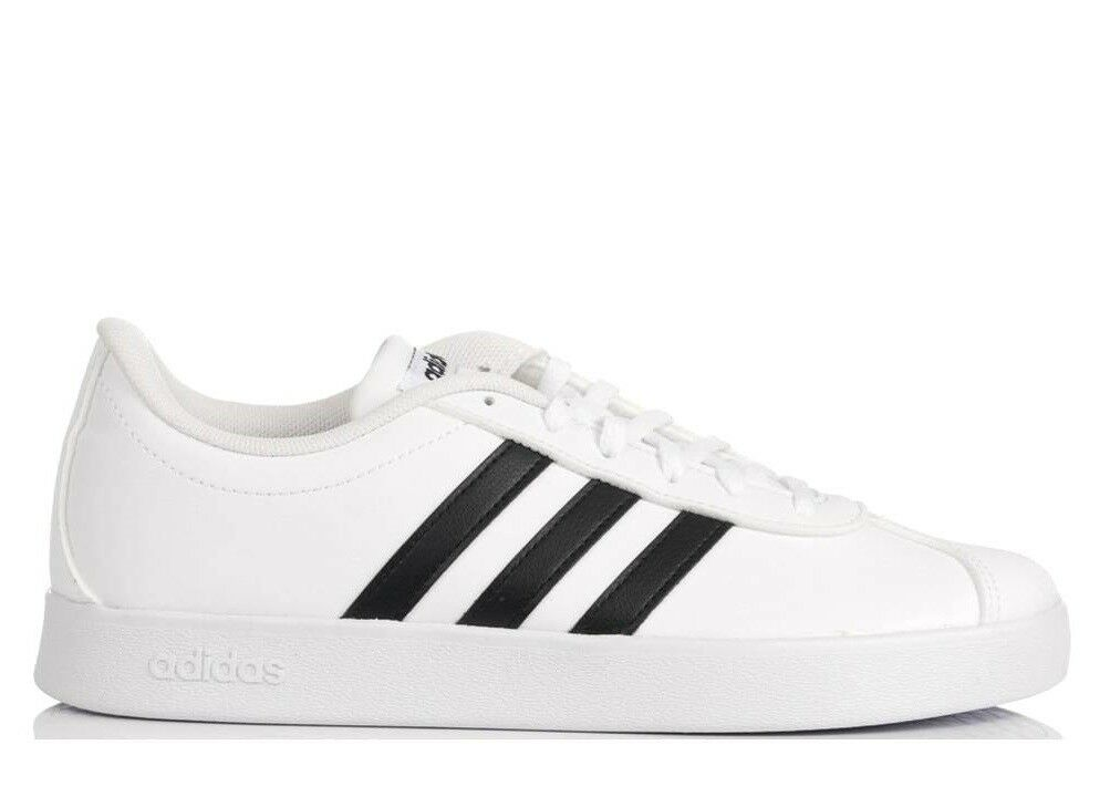 Adidas VL COURT 2.0 VS DB1831 Bianco chaussures femmes baskets Sportive