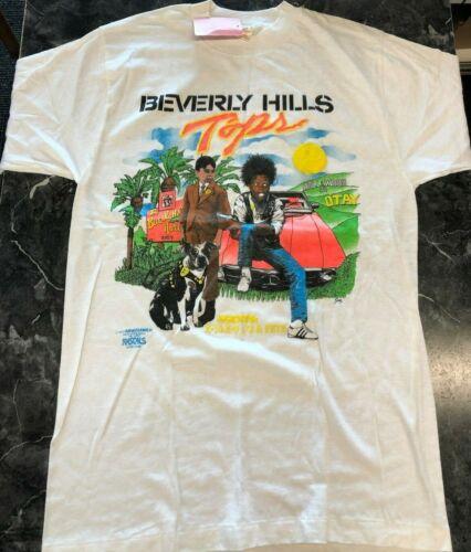 Vintage Retro T Shirt - Beverly Hills Taps The Lit