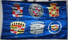 CREST OF CADILLAC 1916-NOW 3'X5' FLAG NEW FREE SHIPPING