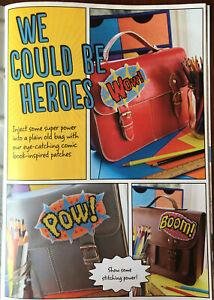 CROSS-STITCH-CHART-Comic-Book-Motifs-Super-Hero-Motif-Pow-Wow-Boom-PATTERN-ONLY
