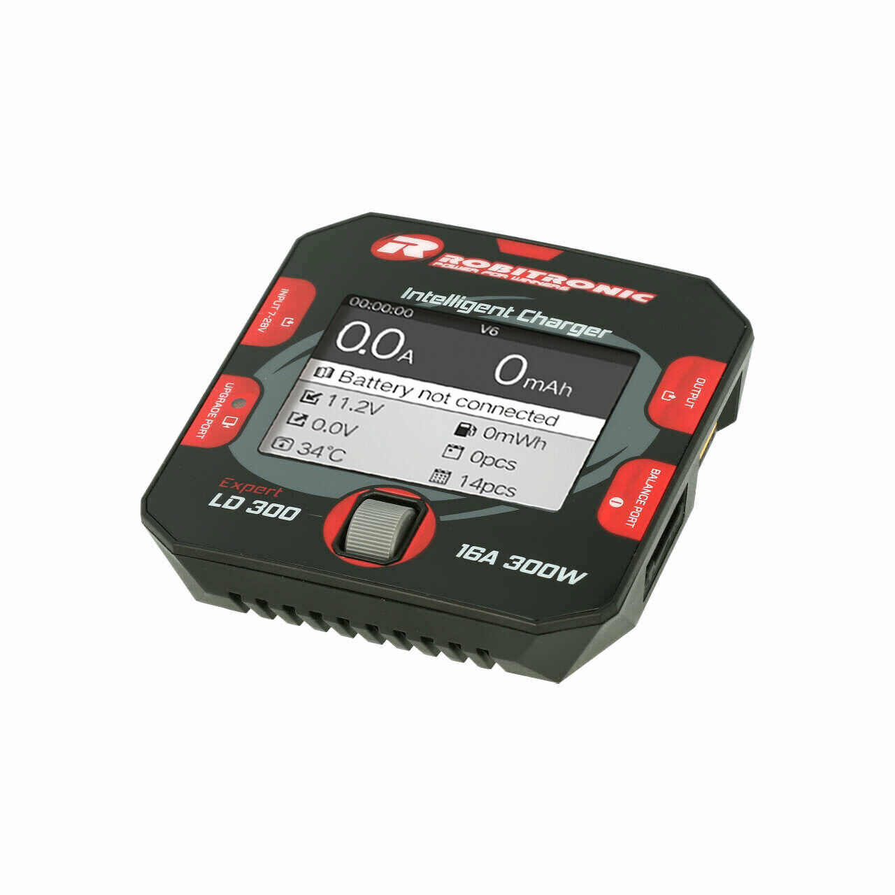 Robitronic r01014 Expert ld 300 cargador lipo 1-6s 16a 300w DC