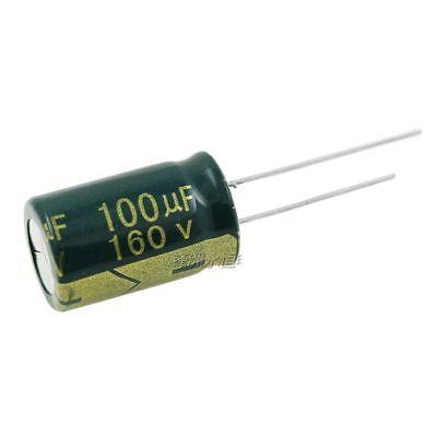 2PCS 450V 100uF 450Volt 100MFD 105C Aluminum Electrolytic Capacitor 18mm×30mm