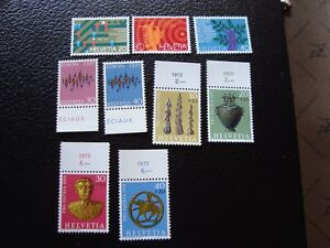 Switzerland-Stamp-Yvert-and-Tellier-N-896-A-904-N-A3-Stamp-Switzerland