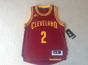 Adidas Kyrie Irving Cleveland Cavaliers Women s Jersey - Burgundy ... 23eeeace4