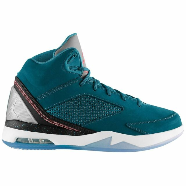 buy online b1ee7 54bba Men s Nike Air Jordan Flight Remix SNEAKERS Sz 12 SPC BL Teal 679680463