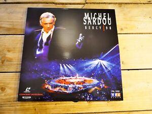 Michel-Sardou-Bercy-98-LD-Laserdisc-EX-Cover-EX-Original-1998