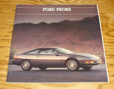1989 Ford Probe GL LX GT 30 Page Dealer Sales Brochure