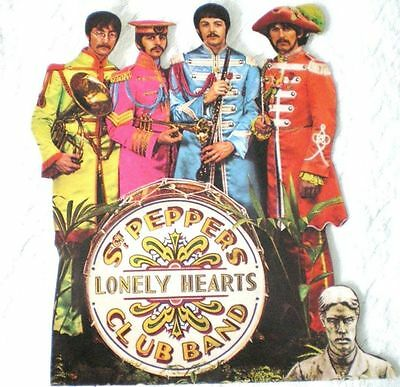 Beatles Sgt. Peppers Lonely Hearts Club Band Promotional Die-Cut Stand Up