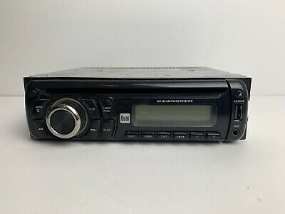 CD Dual XD1225 In-Dash AM//FM WMA Player with iPlug Aux Interface Cable MP3