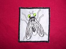 Aufnäher fliege insekt Applikation Abzeichen Patches animals Fly insect Tiere
