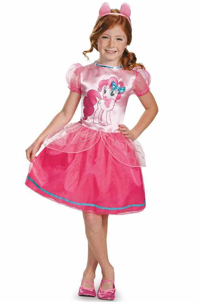 My Little Pony - Pinkie Pie Classic Horse Fancy Dress Up Halloween Child Costume