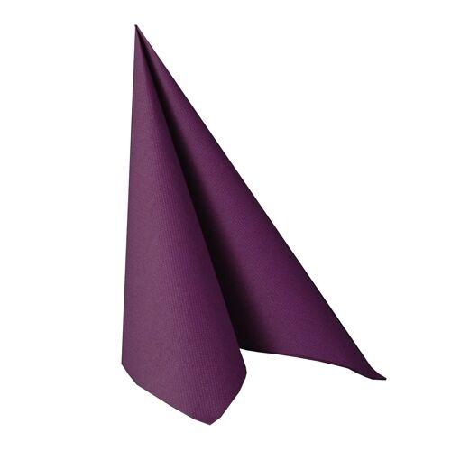 """250 lila Premium Servietten /""""ROYAL Collection/"""" 1//4-Falz 40 cm Party FSC®"""