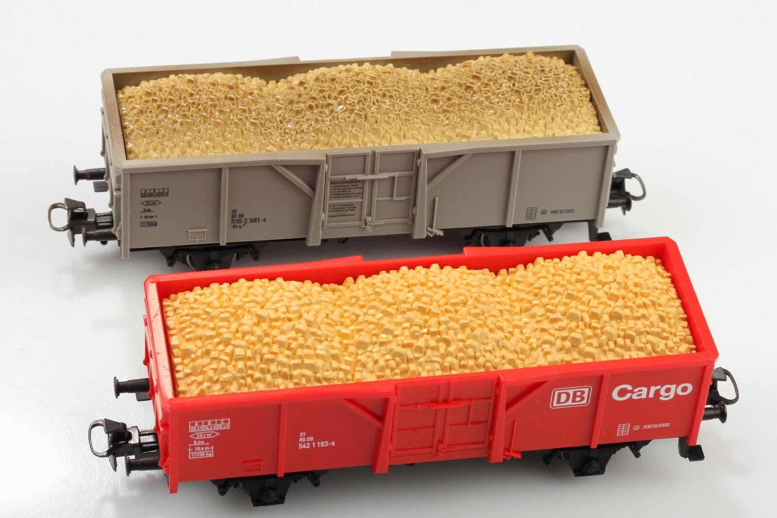 Märklin H0 High-Sided Wagon Db 5421193-5&5102 381-9 with Loading