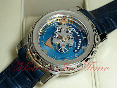 Ulysse Nardin Freak II 28'800 V/h 7-day Carrousel Tourbillon White Gold 020-88