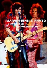 ROLLING STONES PHOTO MICK JAGGER,KEITH RICHARDS, RARE8x11 pic 1975, L.A. FORUM