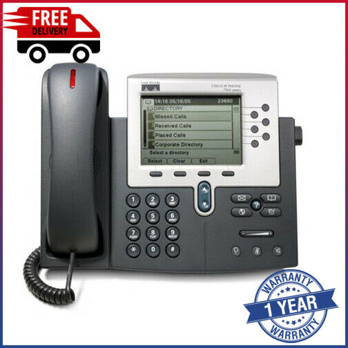 Cisco Cp-7961g-ge Ip Voip Poe Phone Straatprijs