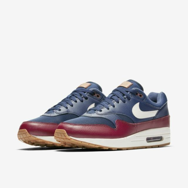 san francisco d292f f3886 Air Max 1 Navy Sail-Team Red-Sail ( Size 9 5