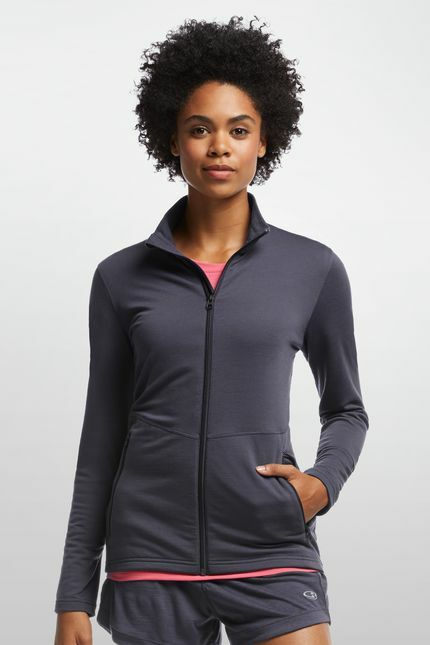 ICEBREAKER Womans Victory Long Sleeve Zip - 200g m² Merinowolle