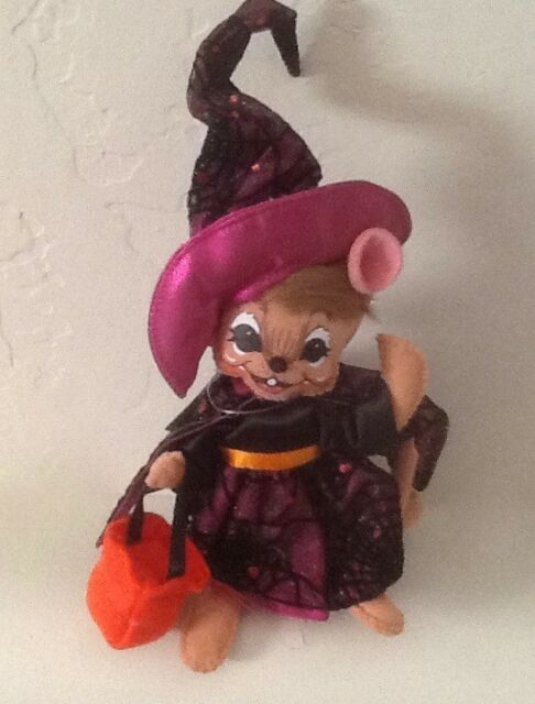 Annalee Dolls 2019 Halloween 4in Trick or Treat Toad Plush New with Tags