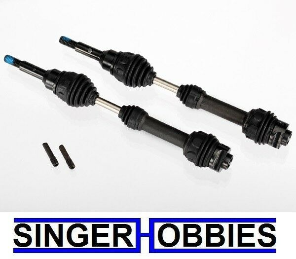 Traxxas 6851R Steel Front Driveshafts  Slash 4x4, Rally, Stampede 4x4 TRA1