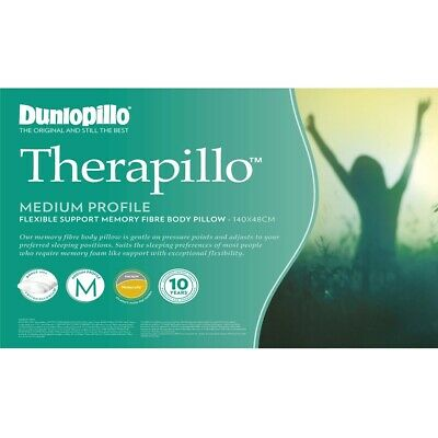 Dunlopillo Therapillo Low Profile Memory Foam Pillow RRP $159.90