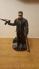 "MCFARLANE 12"" TERMINATOR WITH STAND AND GUNS USED"