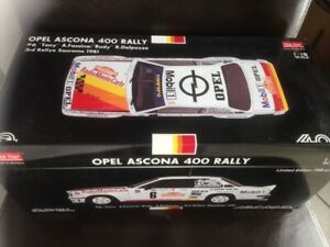 Opel Ascona B 400 Rallye San Remo 1981 # 6 Ss5358 Sunstar 1:18