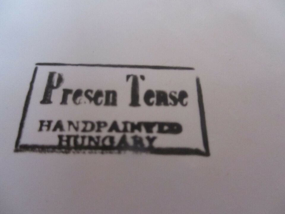 tallerken, skål,krus, håndmalet i Ungarn