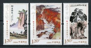 China-2018-MNH-Contemporary-Art-Works-II-3v-Set-Paintings-Stamps